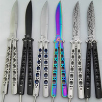 Wholesale Camp Knives - benchmade butterfly BM42 BM42S BM42SBL C42 SPRING LATCH jilt knife Free-swinging Knife hunting knife knives xmas gift for man 1pcs