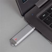 capacidade de flash usb 128gb de memória venda por atacado-Retângulo USB 2.0 Flash Drive XMAS Presente 64 GB 16 GB 32 GB Caneta U Memória Vara Capacidade Total Para PC 64 GB 128 GB 256 GB