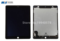 Wholesale Display Ads - 100% New LCD Assembly for ip ad Air 2 black display assembly (LCD & Digitizer Front Panel) Free shipping