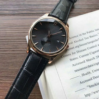 Wholesale Action Business - waterproof watches Trendy fashion business men quartz watches stopwatch luxury brand top men women gifts leather strap Small seconds action