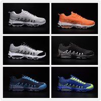Wholesale Crazy Leather Shoes - New 2016 Running Shoes Men Sport Shoes Crazy Light Zapatos Para Correr Men Sneakers Trainers Shoes Summer Walking Shoes Size 40-46