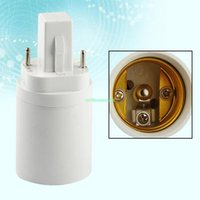 Wholesale Socket Light Convertor - EB3684 G24 TO E27 FEMALE LIGHT CONVERTOR SOCKET BULB ADAPTER LED HALOGEN HOLDER BASE