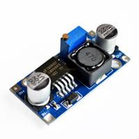 24v регулируемый источник питания оптовых-Оптовая продажа-Ultra-small LM2596 модуль питания DC / DC бак 3A регулируемый бак модуль регулятора ultra LM2596S 24V переключатель 12 в 5 в 3 в