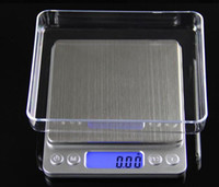 Wholesale Mini Tool Jewelry - Digital electronic scale says 0.01g jewelry kitchen scale mini bakery called scales accurate 0.1 grams 5 types Tools 500g 0.01g