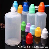 Wholesale cigarettes for sale free shipping for sale - Group buy Hot Sale Dropper Bottle ml for E Liquid Electronic Cigarette With ChildProof Safety Caps Plastic PE Bottles