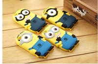 Wholesale Case Galaxy Note Minions - Cartoon Despicable Me 2 soft silicone case more Minions for iphone 4S 5S 5C 6 PLUS Samsung galaxy S4 S5 S6 note 3