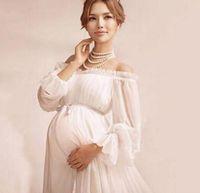 053569a230c 2017 Elegant lace dress Maternity photography props Long dress maternity  clothes Pregnancy Fantasy Photo Shoot props hamile elbise