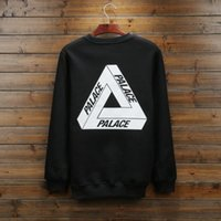 Wholesale Mail Letter - Men's Hoodies & Sweatshirts Selling 2016 packets mail British kanyewest triangle skateboard clothing PALACE more alphanumeric fleece jacket