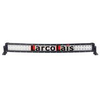 luces de niebla de carretera al por mayor-33 pulgadas 180W curvado Epistar LED barra de luz para el trabajo que conduce el barco del carro del coche 4x4 SUV ATV Off Road lámpara de niebla 12v 24v