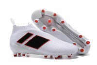 Wholesale Cheap Slip Boots - Wholesale 2017 Ace 17+ purecontrol soccer boots 17.1 Pure Control Football Shoes Soccer Cleats Boots Cheap Discount Football Shoes