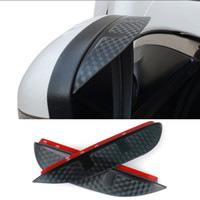 Купить Зеркало Лезвие Автомобиль-Car Styling Carbon rearview mirror rain brorow Rainproof Flexible Blade Protector Аксессуары для JEEP Grand Cherokee 2014-2016