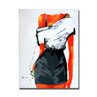 pinturas a óleo venda por atacado-Mão desenhando chinês nu feminino fotos sem moldura belas mulheres nuas pinturas a óleo para sala de estar