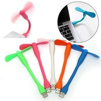 Wholesale Use Computer Fan - Hot Selling Mini USB Fan Cooling For Laptops Desktops HANDHELDS Computers 2 Leaves Flexible USB Gadget Fans