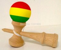 spray wood finish - MATTE FINISH STRIPED KENDAMA BEECH WOOD RUBBER PAINT cm TALL PC paint airless spray gun