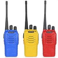 Wholesale 5w Uhf Handheld - 2PCS Baofeng BF-888S Walkie Talkie 5W Handheld Pofung bf 888s UHF 5W 400-470MHz 16CH Two Way Portable