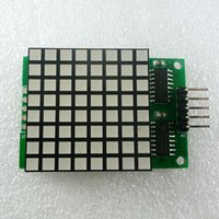 Wholesale Dot Matrix Arduino - 8x8 Square Matrix Red LED Display dot Module74hc595 Drive for Arduino UNO MEGA2560 DUE raspberry pi