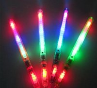 DHA39-1 LED Flash Light Up Wand Glow Sticks Giocattoli per bambini per la festa di Natale festa di Natale regalo di Natale