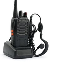 Wholesale Civilian Walkie Talkie - 2X Baofeng BF-888S UHF 400-470 MHz 5W CTCSS Two-way Ham Radio 16CH Walkie Talkie Transmitter & Receiver