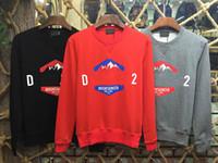 Wholesale Maple Top Natural - 2017 Men maple MOUNTAINEER Printing Top Sweatshirts Long Sleeve hoodie Shirts orange Brand New gypsy size M-XXL