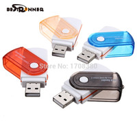 Bestrunner All In One USB 2.0 Micro MS M2 per TF SD Memory Card Reader MMC scrittore per il computer portatile