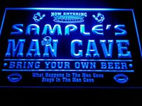 Wholesale Football Signings - DZ031-b Name Personalized Custom Man Cave Football Bar Beer Neon Sign
