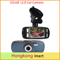 "Wholesale Avc Dvr - New 96650 Car DVD DVR 2.7"" LCD Car Camera Black Box GS108 with WDR Technology AVC 1080P 30FPS G-Sensor Dash Cam G1W"