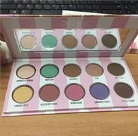 New Makeup Eye Shadow Dose Of Colours Eyescream Eyeshadow Palette 10 Colors Eye Shadow Palette Vendite calde