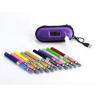 Wholesale E Cig Starter Package - CE4 eGo Starter Kit E-Cig Electronic Cigarette Zipper Case package Single Kit 650mah 900mah 1100mah DHL from Passtore