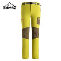 Wholesale Nylon Pants Hiking - Wholesale-New Arrive Ultra-light Sport Hiking Camping Breathable Pants Outdoor Women Pantaloni Trekking Quick Dry Wear Resistant Trousers