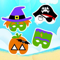 Wholesale Halloween Pirate Masks - Halloween Party Ghost Masks Halloween Mask Ghost Festival Pumpkin Pirate Ghost Party Supplies Halloween Props CCA7021 1000pcs