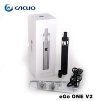 Wholesale Ego Standard Battery - Joyetech eGo ONE V2 Standard Kit 1500mAh Battery With 2ml eGo ONE V2 Atomizer CL Pure Cotton Coil Head Original