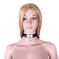 Wholesale Dog Collar Bdsm - Role plays the Black Classic dog slave slave collar color bdsm
