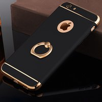 Wholesale Etui Iphone - luxury plastic phone back copy,etui,capinha,coque,cover,case for iphone 8 7 stand for apple iphone8 iphone7 accessories i