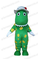 Wholesale Dorothy Dinosaur Mascot Costume - AM0595 Dinosaur Dorothy Mascot costume movie Cartoon mascot party costumes EVA foam mascot fur mascot advertising