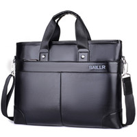 Wholesale Office Works Computers - men's laptops computer bags for men leather bag man office mens briefcase bags working pockets business shoulder messenger bag