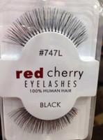 Wholesale Eye Hair Band - In Stock!!!Natual red cherry False Eyelashes High Quality Fake Eye Lashes Extension Band Makeup Retail