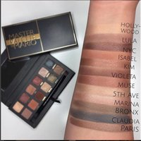 Wholesale Eye Shadow 12 - Hot Makeup Eyeshadow Palette 12 Colors Eye Shadow Palette DHL Free shipping+Gift