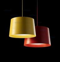 luz colgante amarillo rojo al por mayor-Diámetro 39 cm / 49 cm color blanco negro rojo amarillo Foscarini Twiggy Lámpara de suspensión Lámpara colgante diseñada por Marc Sadler