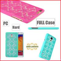 Wholesale Elegant Case S3 - Elegant Vintage Damask Flower Pattern PC Case Cover for Samsung A3 A5 A7 2016 J5 J7 Grand Prime G530 S3 S4 S5 S6 S6 Edge S7 Edge DHL 100pcs