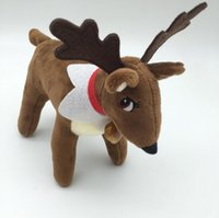 Wholesale Hot Toys Figures - Hot Sale Xmas Elf Pet Reindeer Plush Toy Elf Pet Christmas Toys Gifts for Child Kids