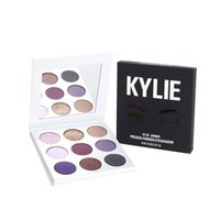 Wholesale Naturals Themes - Kylie Eyeshadow Pan 9 Color Makeup Eye Shadow Purple Theme Series In Stock Kylie Cosmetics Jenner Free shipping