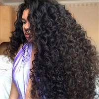Wholesale Cheap Full Natural Curly Wig - Best Malaysian Full Lace Human Hair Wigs Kinky Curly Human Hair Lace Front Wigs Black Women Cheap Glueless Full Lace Wigs