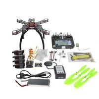 Wholesale Rc Esc Brushless Motor - Full Kit DIY GPS Drone RC Carbon Fiber Frame Multicopter FPV APM2.8 1400KV Motor 20A ESC flysky 2.4GFS-i6 Transmitter F14891-B
