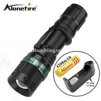 lampe de poche e3 achat en gros de-E3 1set cree led zoom lampe de poche torche tactique s'allume lampe zoomable s'allume led lampe de poche phare lampe frontale