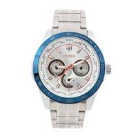 Wholesale Stole Watch - Watches men luxury brand CURREN casual watch men refine steal watch quartz wristwatch male calendar watch