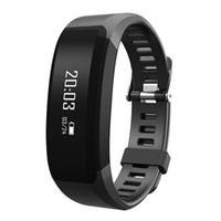 спортивный браслет оптовых-Смарт-браслет Фитнес H28 Bluetooth браслет монитор сердечного ритма вызов напоминание сенсорный OLED-экран группа PK MI группа 2 FIT бит