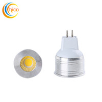 Wholesale 3w power led spot lamp - Super Bright COB GU5.3 Led 3W Bulb Lights GU5.3 MR16 Led Spot Light Lamp 85-265V 12V bedroom light CE RoHS CCC