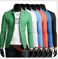 Wholesale Diamond Buckle Sash - Cheap 2016 classic casual men's suits a buckle mult icolor men jacket 5635-9082