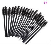 Wholesale eyeliner wand for sale - Group buy 50PCS Disposable Lip Eyeliner Eyelash Brush One off Eyelash Brush Mascara Lipstick Gloss Applicator Wand Makeup Brushes Drop Shipping