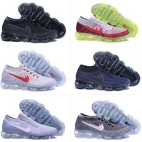 Wholesale Max Floor - 2018 New Arrival Men Women VaporMaxes Shock Racer Running Shoes For Top quality Fashion Casual Vapor Maxes Sports Sneakers Trainers